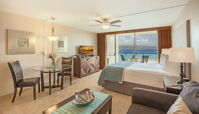 Beautiful Kahana Ocean View Studio - Lahaina - Ortak mülk