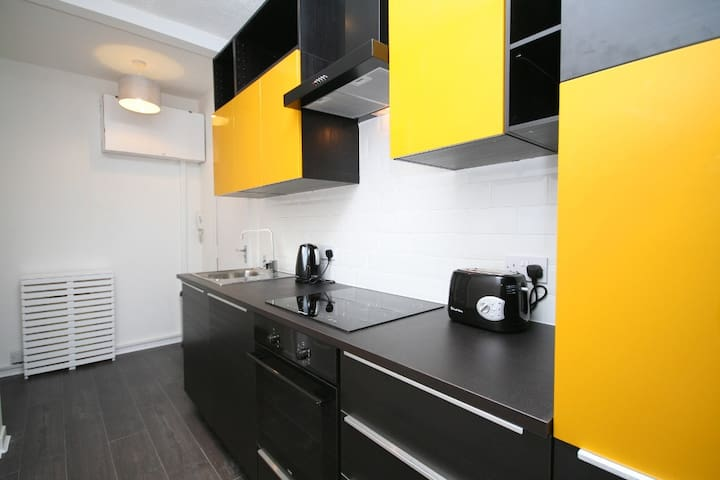 Stylish & Bright City Centre Apartment - Glasgow