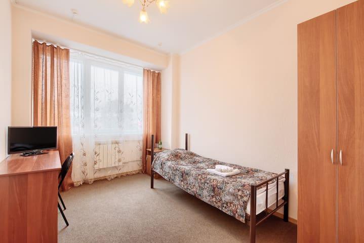 Гостиница «Машук» стандартный одноместный номер - Pyatigorsk - 宿舍