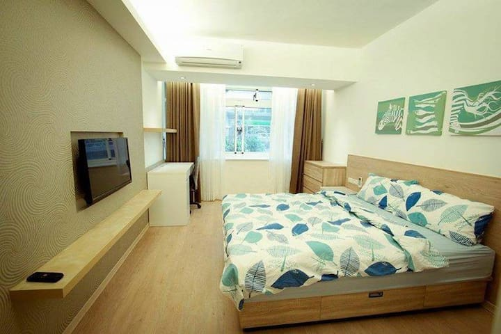 Muzha [Ensuite Room] in shared apartment. - Wenshan District - Leilighet