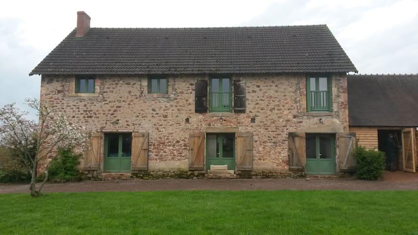 Grange réaménagée de la Bernue - Le Brethon