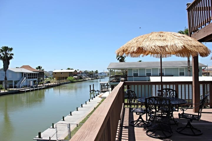 Twin Palms on Copano Bay - Rockport - Hus