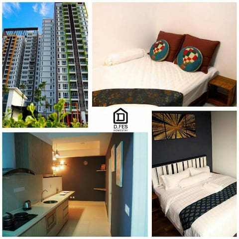 D.FES HOMESTAY - Ipoh - Appartement