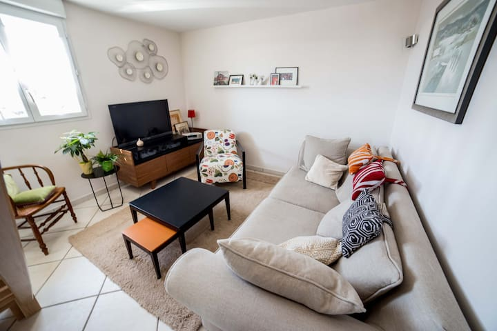confortable duplex contemporain - Champagnole - Appartement