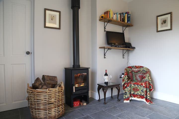 Peaceful, scenic, cosy cottage near Wells - Oakhill - Huis