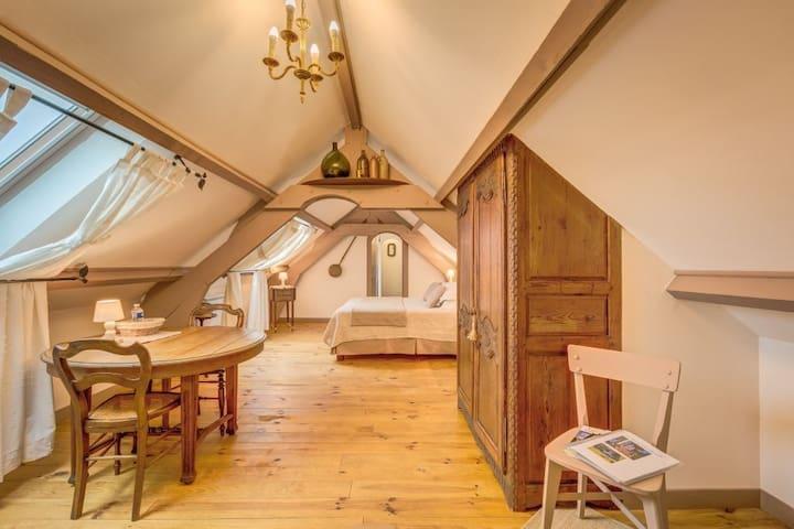 Chambre la vallée surelle. Tilleul - Lalandelle - Bed & Breakfast