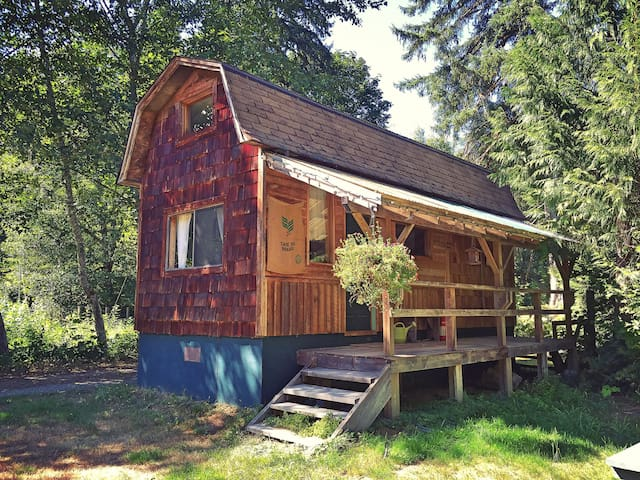 The Cabin on Cloudburst Mtn Farm - Squamish - Cabaña
