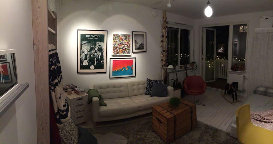 Cozy 2 room apartment close to city, forest & tram - Gothenburg - Daire