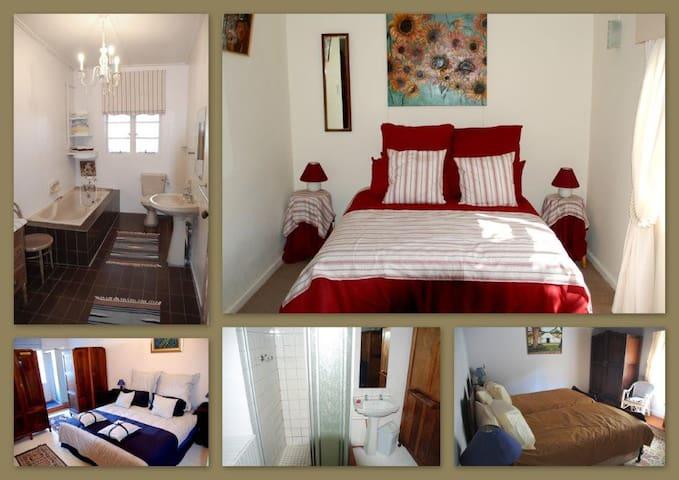 Private Twin Room in Farm House Fisherhaven - Overberg District Municipality