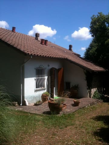 cottage in the countryside 450 slm - Molazzana - Houten huisje