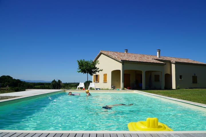 Luxury 3bd house with swimming pool - Les Planards - Casa