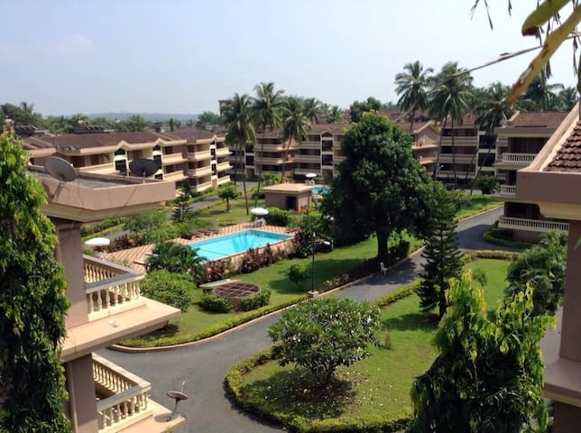 Central,comfortable 2BHK @Candolim - Goa - Apartemen