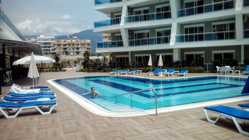 Luxurious brand new flat in Alanya - Алания