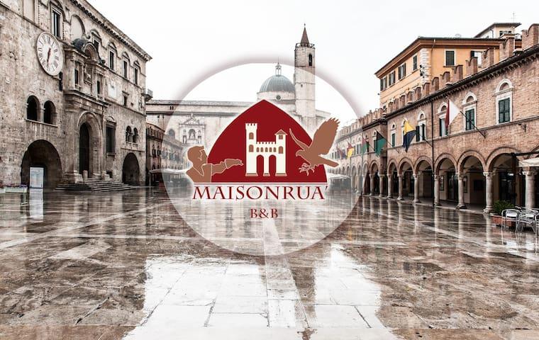 Maisonruà B&B  Rua dei Legnaiuoli  - Ascoli Piceno - Appartement