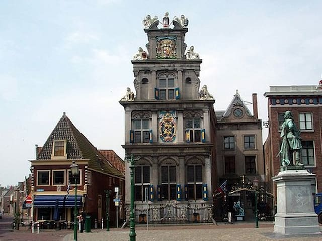 Spacious appartment in centre of Hoorn - Hoorn