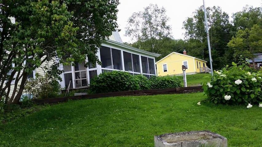 Northeast Kingdom Farm Cottage - Concord - Huis