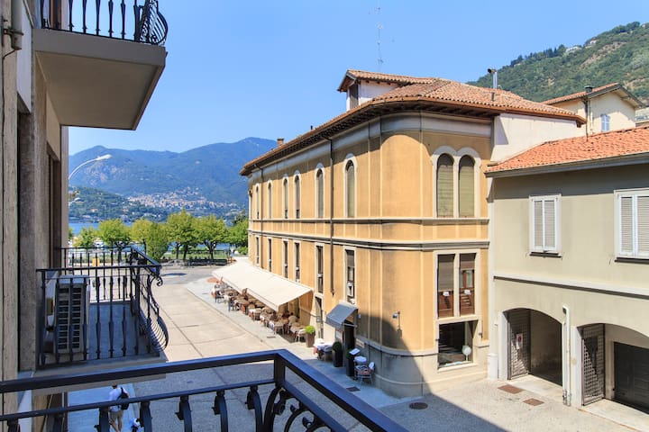 Family suite one step from the lake - Como - Apartemen