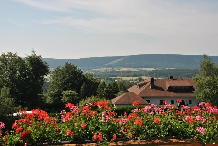Tolle Ferienwohnung in Fichtelberg - Fichtelberg - 公寓