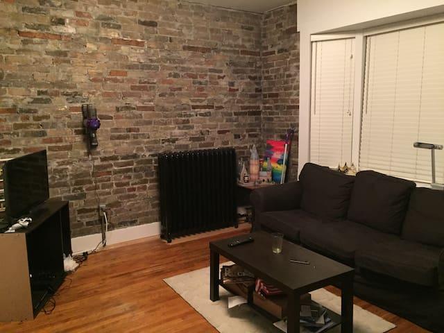 HOMEY apartment in downtown Kitchener - Kitchener - Apartemen