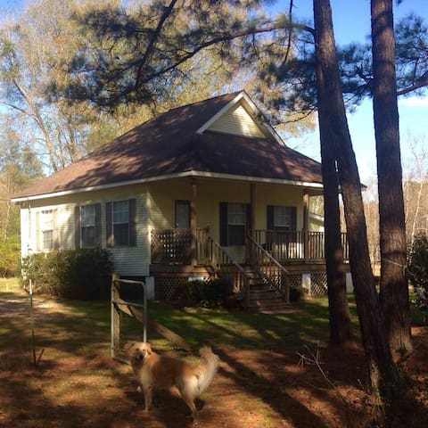 Glo's Country Cottage- book 2 nights get one free - Covington - Kulübe