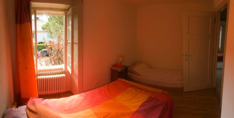 Une chambre cosy à 2 min du centre-ville - 納沙泰爾(Neuchâtel) - 獨棟