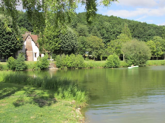 Maison de l'étang - Grosley-sur-Risle - Alojamento ecológico