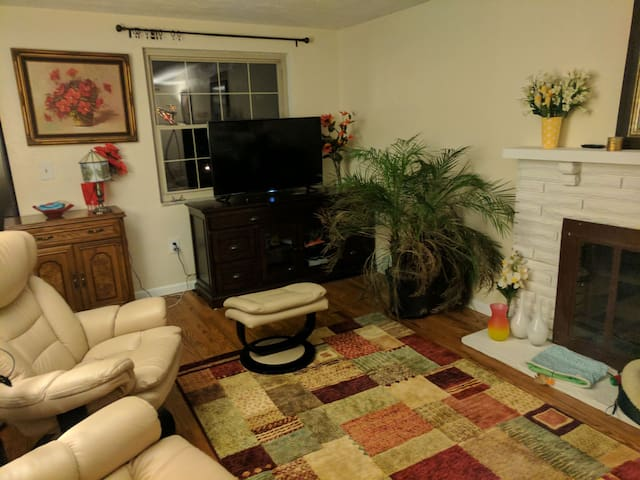 Private room and patio in Mount Lebanon - Pittsburgh - Casa