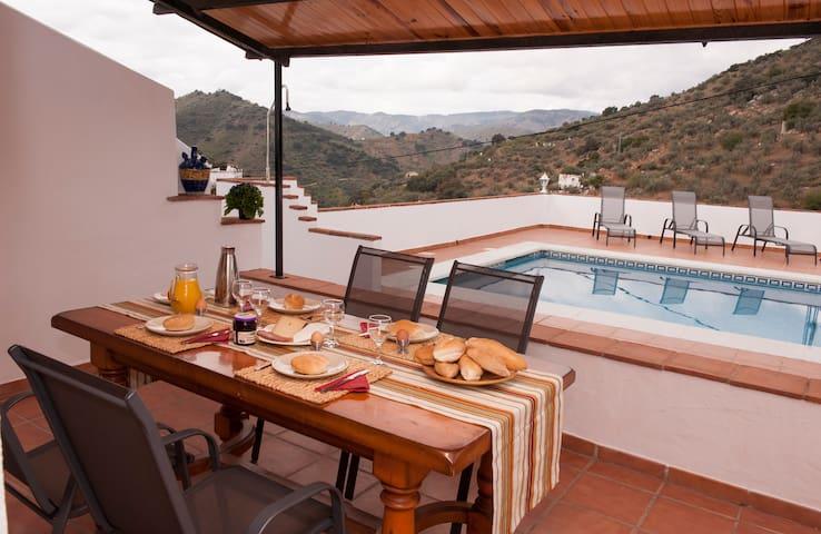 Spanisch Casita mit eigenem großes Pool! - Comares