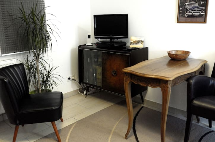 Single-Appartement im Vintagestil, Trier Zentrum - Trier - 公寓