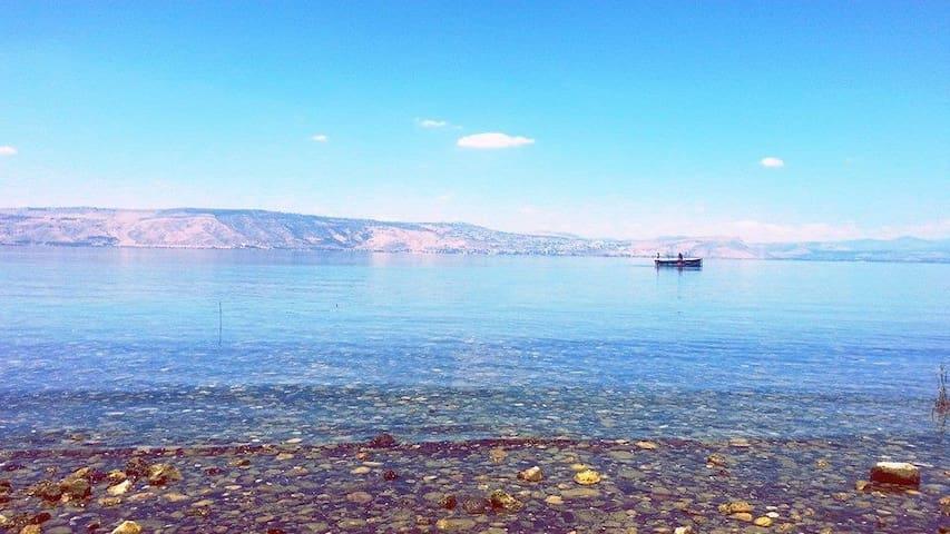 Stunning Apt  Close to the Sea of Galilee - Tiberias - Leilighet