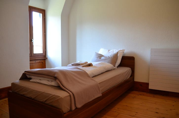 Lovely Single Room in Traditional Swiss Villa - Lavey-Morcles