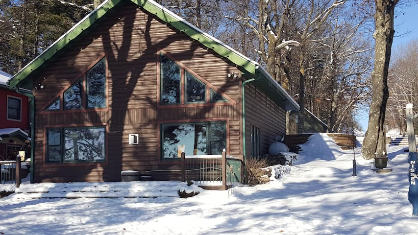 Cozy Lake Retreat - Hayward - Blockhütte