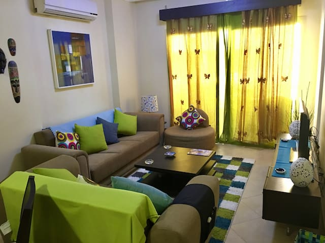 Charming Hurghada Poolview 1-BR at British Resort - Hurghada - Apartmen