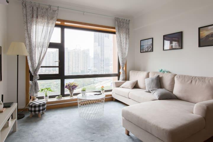 Cozy Female 4-bed room, Near Metro/HK border 近会展中心 - Shenzhen - Vandrerhjem