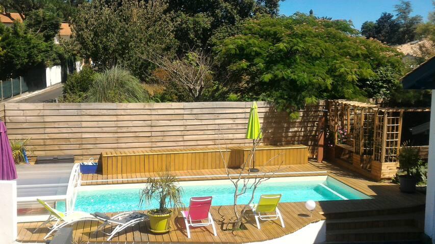 Wood, ocean, private swimming pool near Bayonne - Boucau - Lägenhet