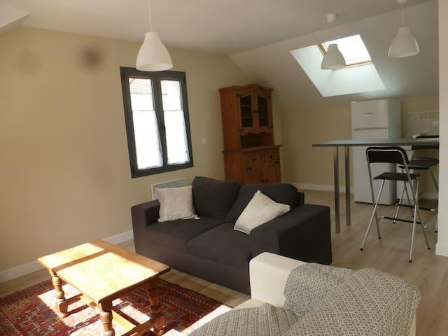 Appartement meublé 2 pièces en centre ville - Verneuil-sur-Seine - Departamento