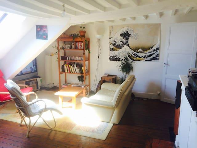 Appartement calme et de caractère - Saint-Lô - 公寓