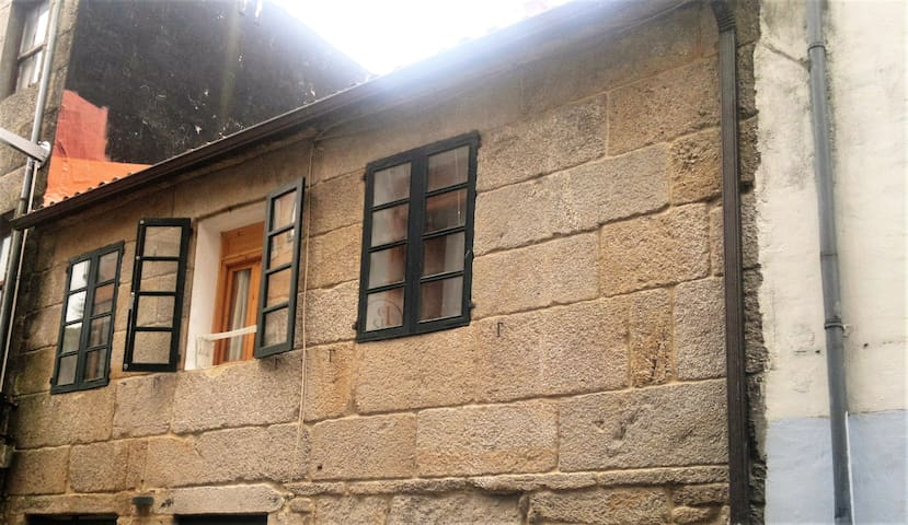 piso en zona monumental,cerca de la pza de la leña - Pontevedra
