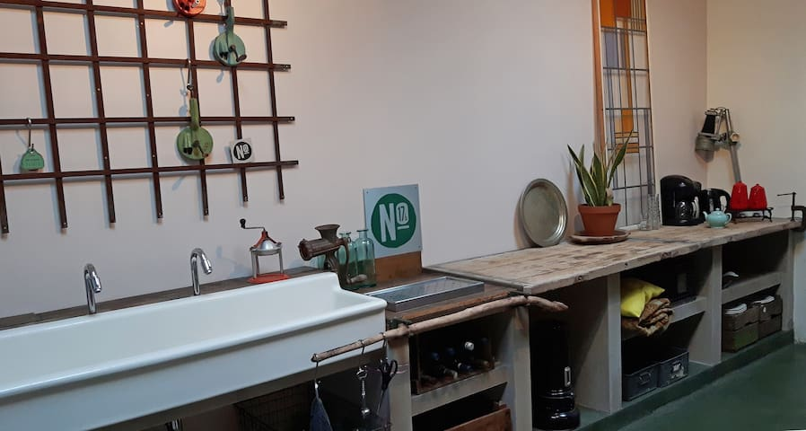 Spacious and comfortable loft with roofed terrace - Nijmegen - Loft
