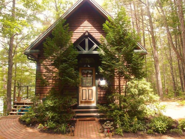 Cozy lake front cabin in Maine - Denmark - Blockhütte