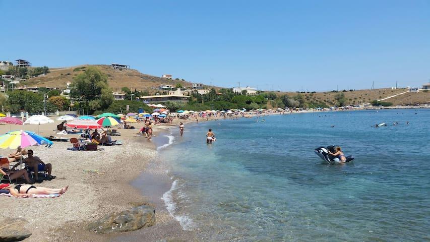 Quit,relax 7 min walk from beach - Kalopigado - Huis