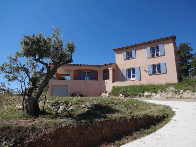 Villa Aurélia (Provence), View and Swimming Pool - Flayosc - Villa