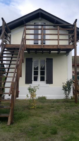 Apartments in rural area close to the ocean - Pontenx-les-Forges - Daire
