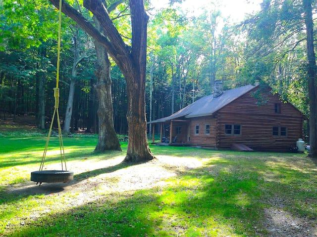 Catskills Secluded Log Cabin - Cornwallville - Kabin