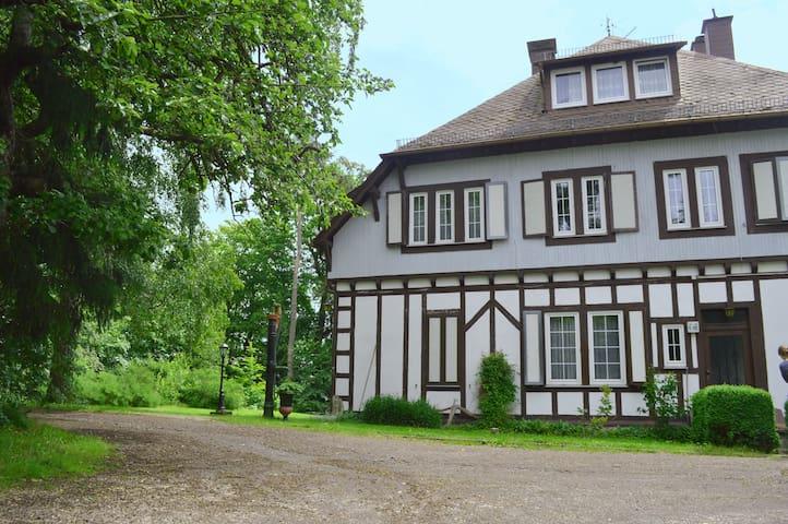 Idyllische Alleinlage im Grünen mit Aussicht - Bergenhausen - Bed & Breakfast