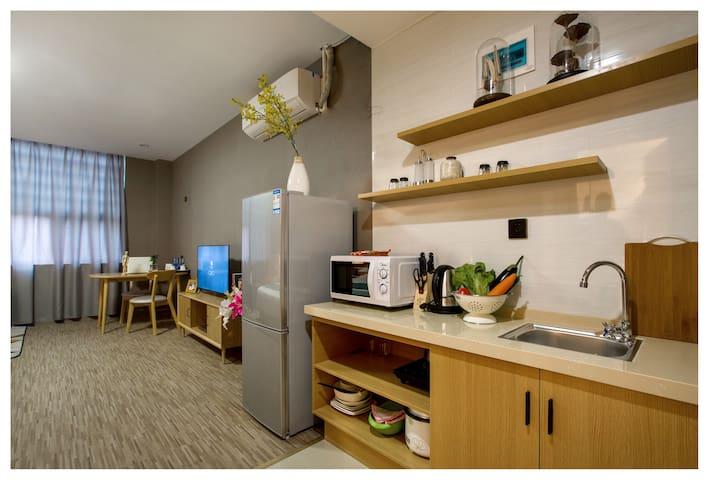 高级房-日式风 - Ningbo - Apartamento