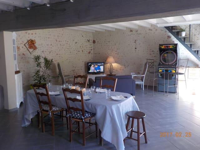 Maison de charme - Zoo de Beauval, Châteaux... - La Chapelle-Montmartin - 獨棟
