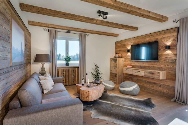 Hussnhof | 5-Sterne-Luxus-FeWo 100 m² - Sachsenkam - Leilighet