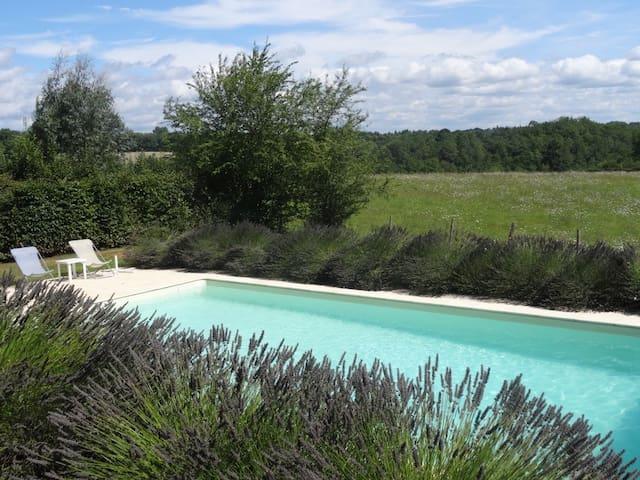Pretty cottage - own private pool - Montcabrier - Ház