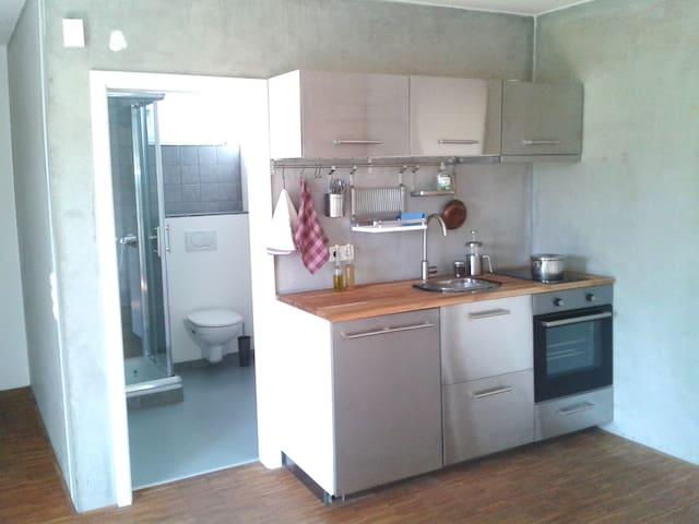 Kleine Einliegerwohnung mit Küche und Bad - Leinach - Кондоминиум